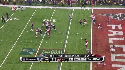 FINALMENTE! Patriots marca o seu primeiro touchdown no Super Bowl LI!