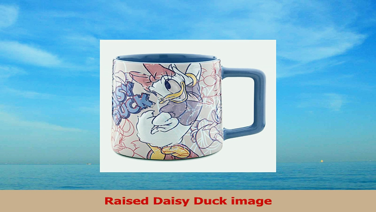 Officially Licensed Disney Daisy Duck Coffee Mug Crazy Over Daisy Featuring Genuine 2deaa018