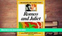 PDF [DOWNLOAD] Romeo and Juliet (Shakespeare Made Easy) William Shakespeare [DOWNLOAD] ONLINE