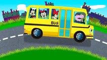 Колеса на автобусе больше песни для детей | рифмы для детей | потешки для малышей