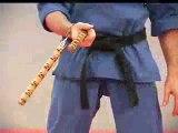 Rick Tew's NinjaGym Nunchaku Wrist Roll Ninja Training