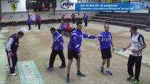 Troisième tour, tir progressif, Club Elite Masculin, J7, Aix-les-Bains contre Balaruc, Sport Boules, saison 2016-2017