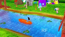 Row Row Row Your Boat   3D Rhymes   Nursery Rhymes For Children   Kids Rhymes Videos