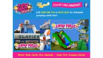 Water Slide Castle Hire Adelaide - Jump First Jumping Castles