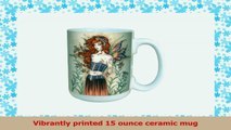 TreeFree Greetings lm43564 Sweet Wall Flower Fairy Ceramic Mug with Full Sized Handle by 6ec3be80