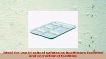 Carlisle 4398802 Melamine RightHand 6Compartment Divided Tray 145 X 10 White Pack of 485b7b74