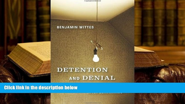 PDF [DOWNLOAD] Detention and Denial: The Case for Candor after Guantánamo BOOK ONLINE