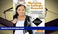 PDF  Thriving in College AND Beyond: Research-Based Strategies for Academic Success and Personal