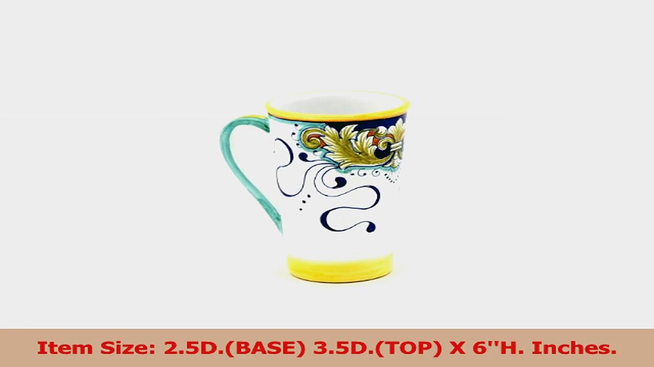 DERUTA FOGLIE Tall Mug 16 oz 9507FOL b77b7120