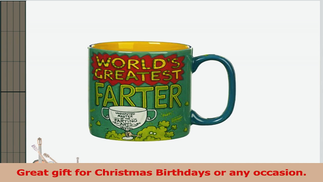 Worlds Greatest Farter Novelty Coffeetea Mug 5438b794