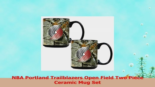 Portland Trailblazers Mug Open Ceramic A05040af Piece Nba Two Field Set EIH2WD9Y