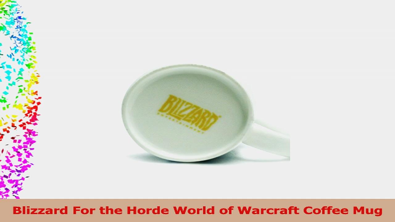 Blizzard For the Horde World of Warcraft Coffee Mug 65cafe86