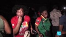 Le Cameroun fête la victoire des Lions indomptables