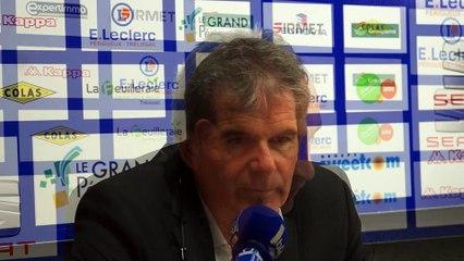 Conférence de presse BBD BOULOGNE SUR MER - 04/02/2017