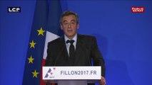 """François Fillon : """"Dès ce soir, une nouvelle campagne qui commence"""""""