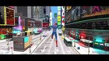 Spiderman Nursery Rhymes & Disney Frozen Elsa and Disney Cars Pixar Lightning McQueen Colors