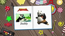 Kung Fu Panda Finger Family Book Nursery Rhymes. Kung Fu Panda Finger Family Lyrics