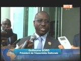 Ahoussou Jeannot a reçu Soro Guillaume et un émissaire du 1er ministre Bissau Guinéen