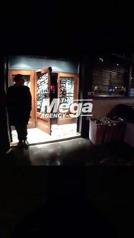 Robert Pattinson & FKA twigs leaving the Groucho club in London 05/02/2017