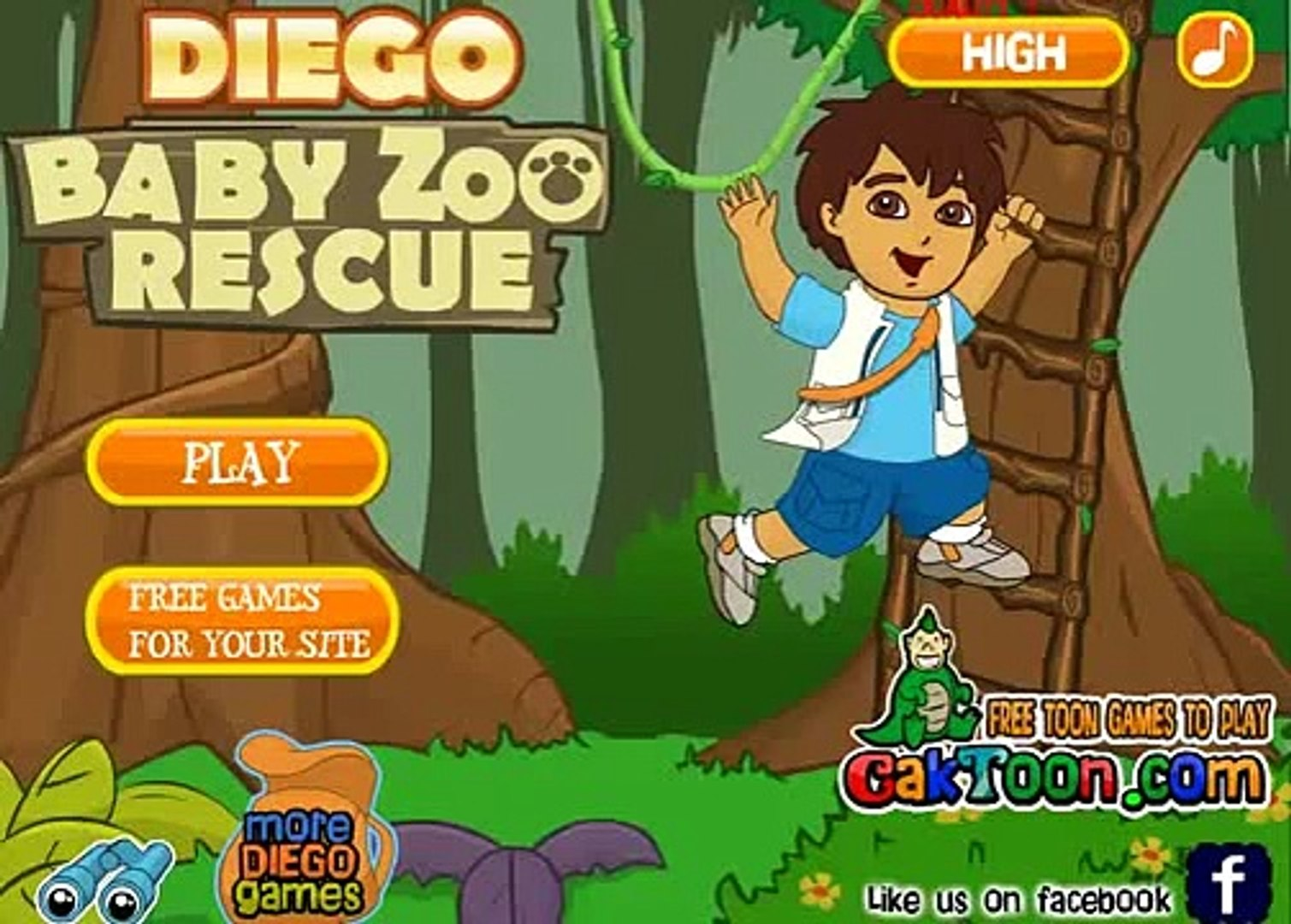 to diego play games