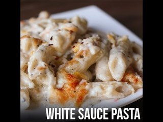 White Sauce Pasta | Latest Food Recipe 2017