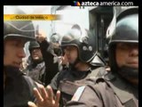 Actos vandálicos deja operativo en Tepito, México