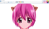 How I Draw using Mouse on Paint  - Nana - Elfen Lied