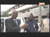 Sécurité nationale: La police nationale reçoit des dons du président de la république