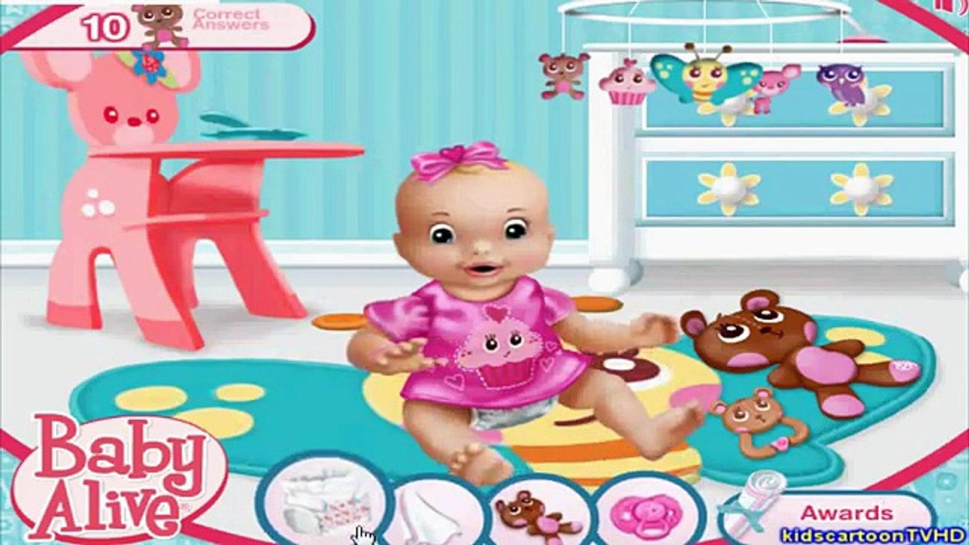 Baby Alive - Playtime - Kids Babies Game Movie