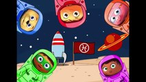 SUPER WHY Out Space Fingers Painting / Family Finger Song Nursery Rhymes Lyrics