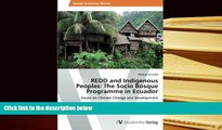 BEST PDF  REDD and Indigenous Peoples: The Socio Bosque Programme in Ecuador: Issues on Climate