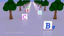 Learn ABC rhyme │ Falling Blocks