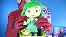 Worlds BIGGEST SADNESS Surprise Egg Inside Out Toys Disney Pixar Spiderman SUPER GIANT EGG