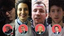 À 20 ans, ils nous disent pourquoi ils votent Le Pen, Macron, Hamon, Mélenchon