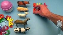 Disney Frozen Kinder Surprise Egg Learn to Spell!  Spelling Farm Animals!  With Surprise Eggs!-IXvW_U976ik