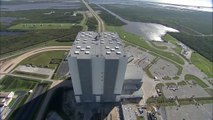 Aerial Survey of Kennedy Space Center Following Hurricane Matthew