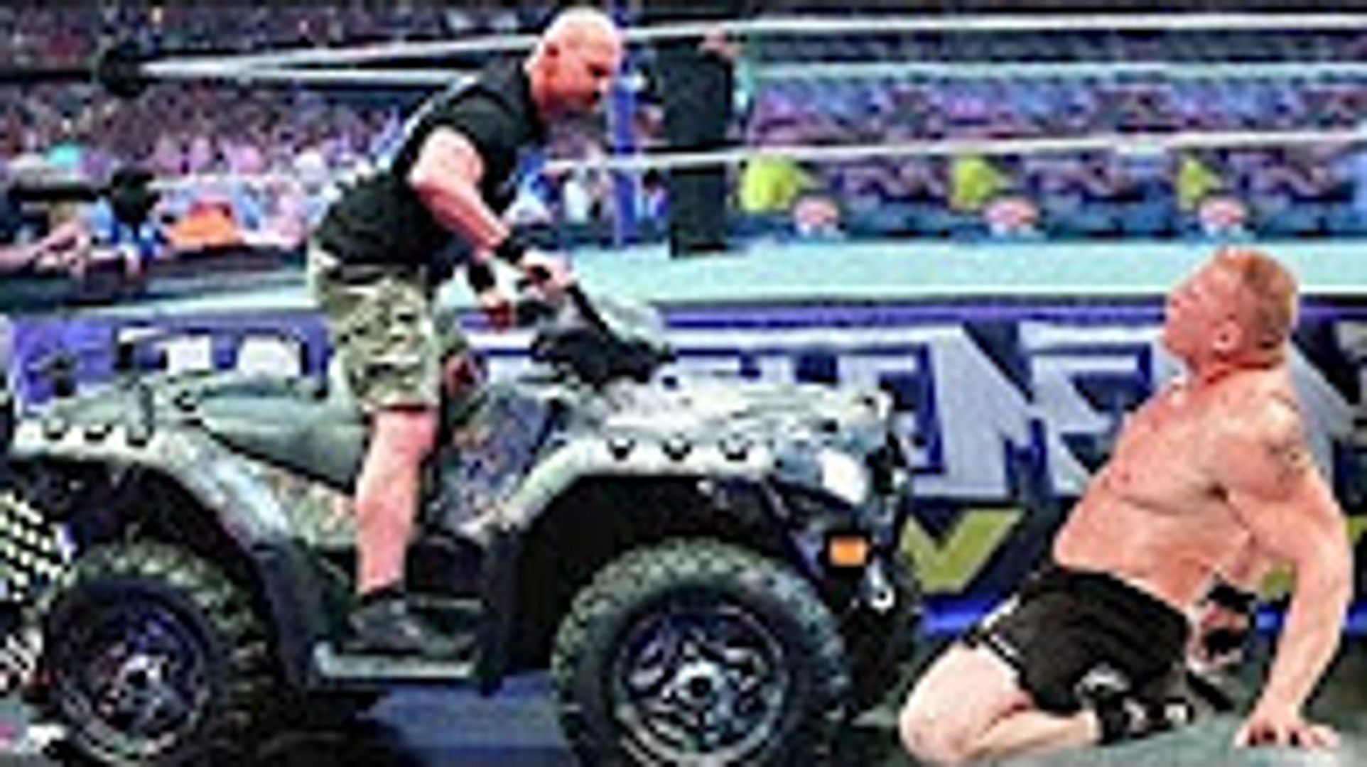 WWE Brock vs Stone Cold | Brock Lesnar Almost Killed by Stone Cold Steve Austin