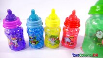 Learn Colors Orbeez Baby Milk Bottles Surprise toys for Childrens DINO DINOSAUR Drinking Milk-MdwuvS0a2CU