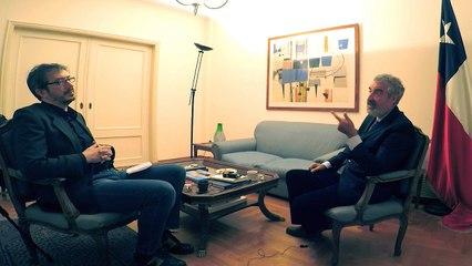 Entrevista de Andres Solimano a Kostas Pliakos por CNN Greece