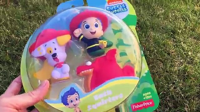 Bubble Guppies Toys Bubble Guppies Bath Squirters Preschool Toys Juguetes de Bubble Guppies