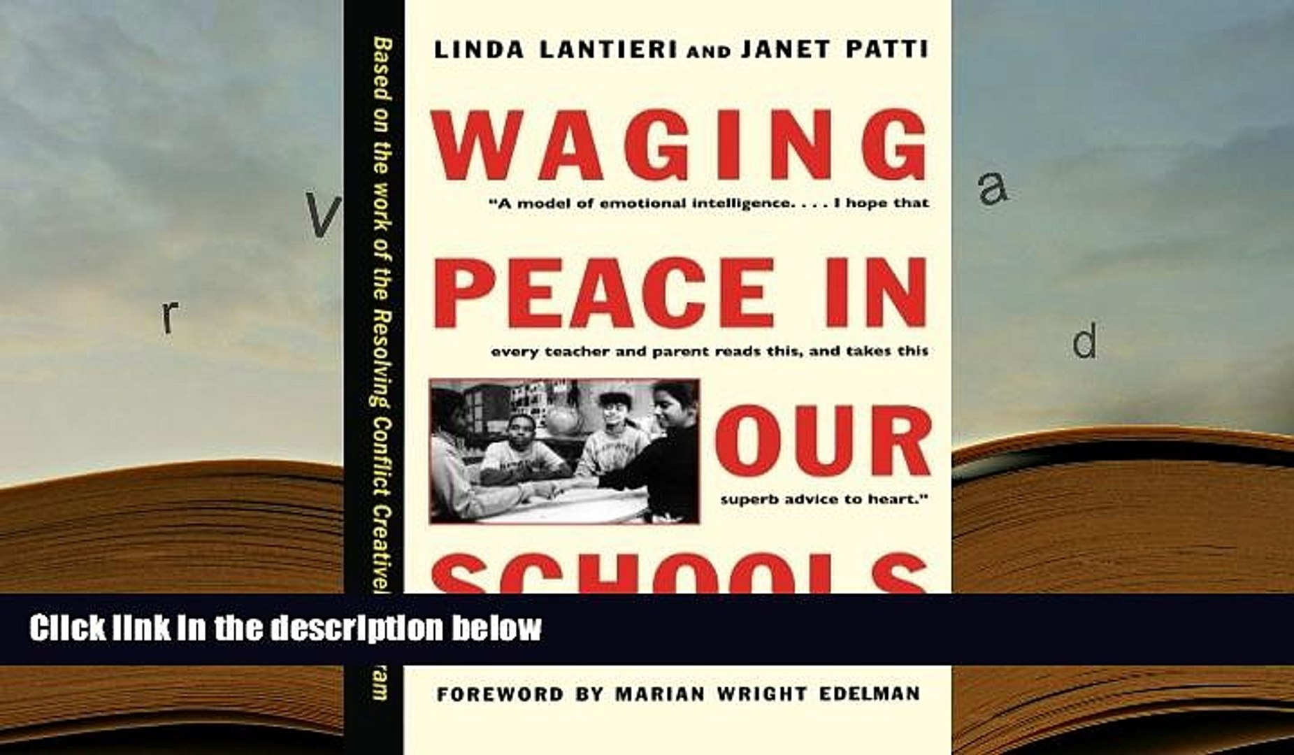 PDF [Download] Waging Peace in Our Schools Book Online