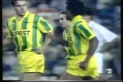 30.09.1993 - 1993-1994 UEFA Cup 1st Round 2nd Leg Valencia CF 3-1 FC Nantes (After Extra Time)