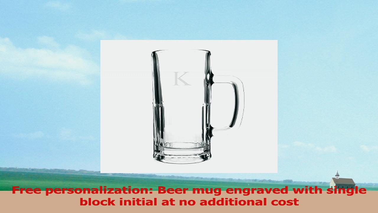 Cathys Concepts Personalized Frankfurt Tallboy Beer Mug Letter K eb79e95a