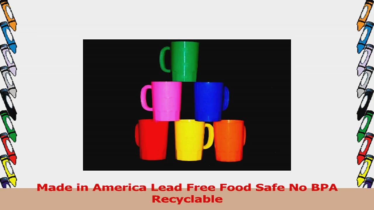 Talisman Plastic Beer Mugs Large 32 Ounce Pack 6 Color Multi af741b00