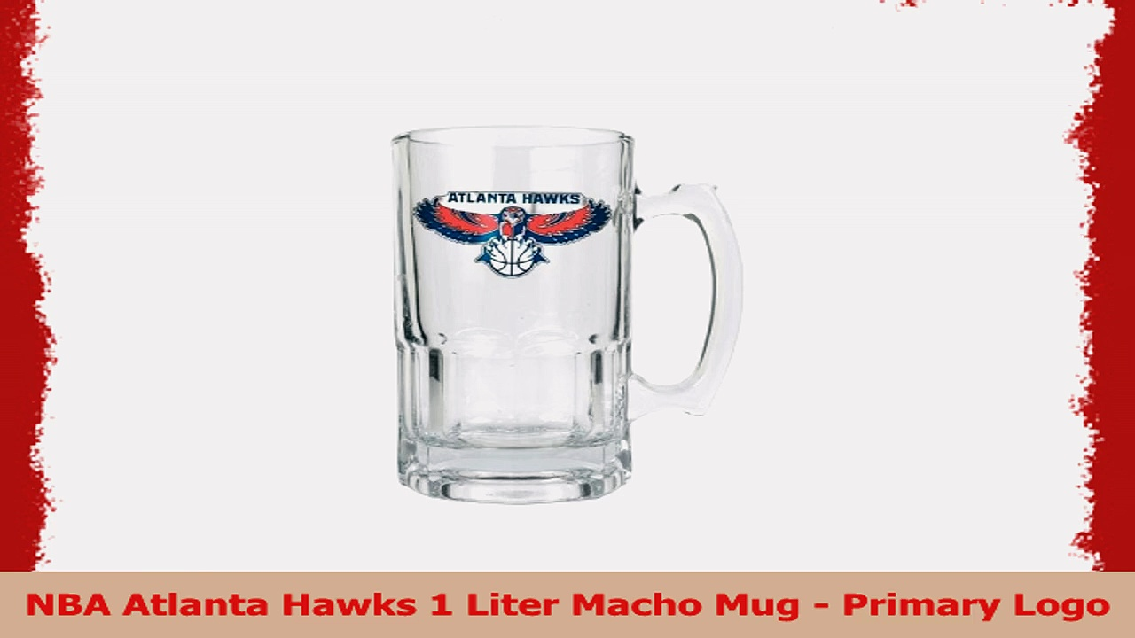NBA Atlanta Hawks 1 Liter Macho Mug  Primary Logo 7dad3e39