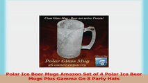 Polar Ice Beer Mugs Amazon Set of 4 Polar Ice Beer Mugs Plus Gamma Go 8 Party Hats 65fd8ef2