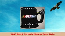 2003 Black Ceramic Nascar Beer Stein c3e6a6c4