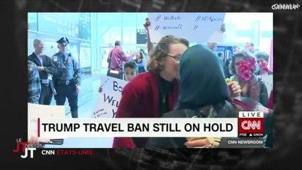 Suspension du décret Trump: joie et soulagement des familles qui peuvent rentrer chez elles - Le Grand Journal du 06/02
