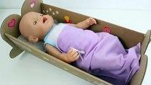 Nenuco Eco Play Crib Baby Doll Sleep With Me Cuna Bebés How To Sleep a Baby Doll Cradle Toy Videos