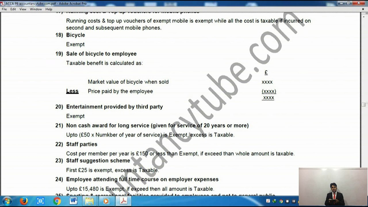 Free ACCA lecture   Free ACCA Notes   AccountancyTube com